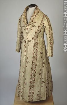 Dressing Gown  1832  The McCord Museum