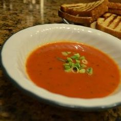 Low-Fat Recipes: Red Pepper and Tomato Soup - Crush Cravings and Blast Belly Fat with this 22 Page FREE Report - http://mass-ebooks.fixyourbloodsugar.com/4-best-foods/   http://allrecipes.com/Recipe/Red-Pepper-and-Tomato-Soup/Detail.aspx?src=rss -  #dinnerrecipes #dinner #entertainment #dessert