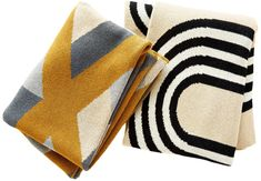 These three Midwest textile artists design rugs and throws that marry inventive graphics with impeccable craftsmanship. See our story for textiles that will change the way you decorate. Fibre And Fabric, Hand Tufted Rugs, Cotton Throws, Textile Artists, Repeating Patterns, Fabric Art, Textile Design, Inventions, How To Draw Hands