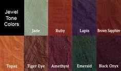 Jewel tone swatches jewel tones what are jewel tones - What are jewel tones ...
