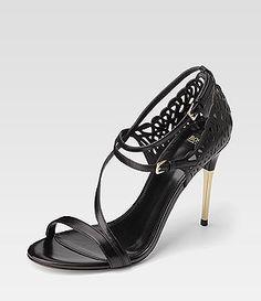 Sandalette FILIPHA BOSS Black