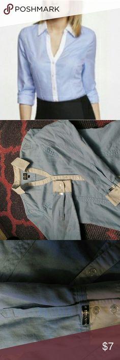 Express button up shirt Express long sleeve button up shirt Express Tops