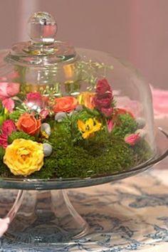 Eclectic Flower Tea Party Ideas