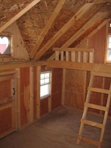 plans for playhouse with loft - Google Search