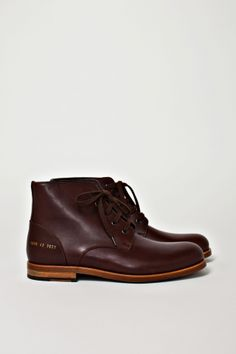 a85ba4ee03d83 Work Boots Brown. Not sure if it a new model or not. Olivier G · Common  Project SS12