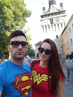Superman and Wonderwoman :)