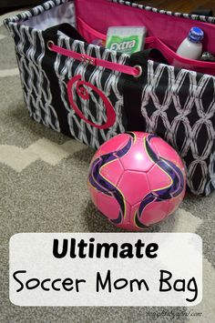can survive soccer season by making sure I stock up my Ultimate Soccer Mom bag with essentials and gear so I have one bag to pick up and go. Soccer Practice, Soccer Drills, Soccer Coaching, Soccer Tips, Kids Soccer, Soccer Games, Soccer Training, Soccer Stuff, Soccer Snacks