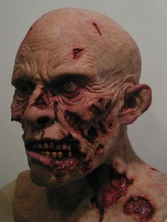 Darren Nevin. New silicone zombie paint-up for another customer.  https://www.facebook.com/DNA.FX