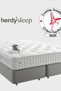 """We are OVERJOYED that the Herdysleep mattress received the London Evening Standard """"ES Best Top Pick"""" seal of approval! Ways To Sleep, Best Mattress, Nice Tops, Cool Things To Make, Memory Foam, Seal, Home And Garden, Comfy, London"""