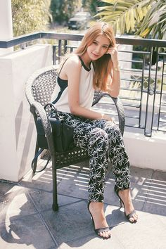 """Whoever said """"black and white always looks modern, whatever that word means. Tricia Gosingtian, Mango Bags, The Dreamers, Style Inspiration, Style Ideas, Places To Go, Casual Outfits, That Look"""