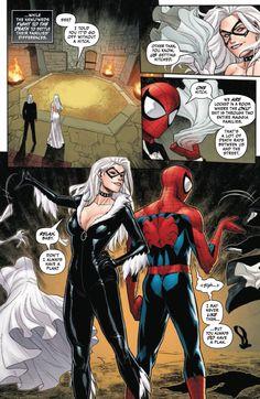 Spiderman Black Cat, Black Cat Marvel, Iron Man Wallpaper, Marvel Wallpaper, Dc Comics Superheroes, Marvel Dc Comics, Black Cat Comics, Xmen, Spider Art