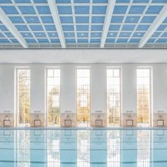 Veauthier+Meyer+Architects+renovates+Nazi-era+swimming+pool+hall+in+Berlin