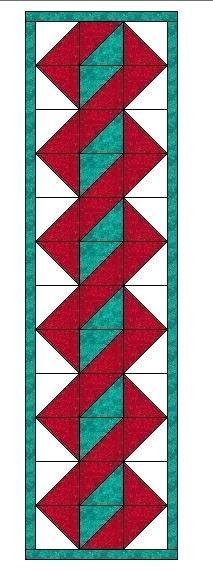 Table Runners Patterns Simple Texas Quilting Quilting In The Lone Star Statetwisted Pole Table Runner Pattern Easy Table Runner Crochet Patterns Table Runners Patterns