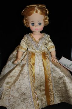 REDUCED Vintage Madame Alexander First Lady Mary McKee on Etsy, $85.00