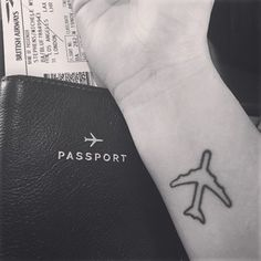 This nod to the sky: | 17 Tiny Travel Tattoos For Your Next Big Adventure
