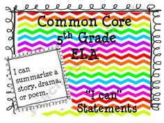 5th Grade Common Core ELA Wild-About-5th Shop -   Teachers Notebook