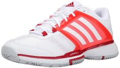 adidas Performance Women's Barricade Team 4 W Tennis Shoe ^^ Quickly view this special  product, click the image : Athletic sneaker shoes