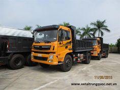 xe tải ben Dongfeng Trường giang 8.5 tấn 1 cầu
