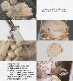 Queen Katherine Elissa Therin-Cousland. Warden-Commander. Hero of Ferelden. Arlessa of Ameranthine. + Aesthetic.