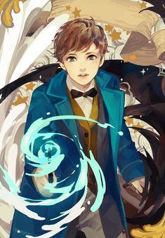 lanxin: Fantastic Beasts print, available at AX L33!