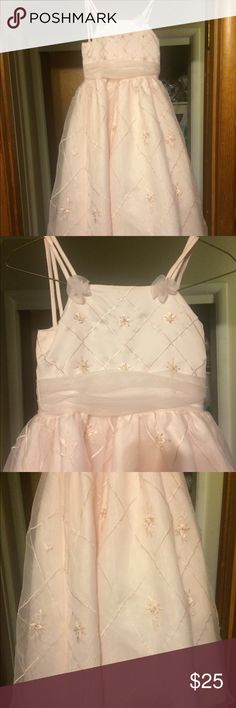 Beautiful girls dress. Light pink. Light pink spaghetti strap dress. sweetie pie Dresses Formal
