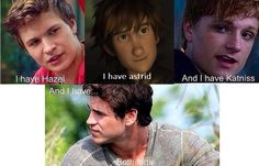That's rude of Gale! I hate Gale so much! I don't know the first person but the others are so sweet!#peeta