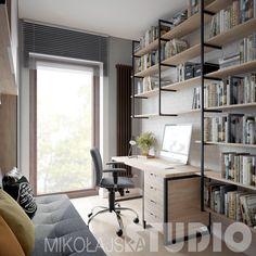 Mieszkanie w stylu LOFT przy Rakowickiej w Krakowie – MIKOŁAJSKAstudio Krystyna Mikołajska
