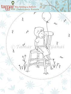 Embroidery Pattern Instant Download Needlecraft от TamarNahirYanai