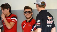 Will Stevens (GBR) Manor F1 and Max Verstappen (NDL) Scuderia Toro Rosso on the drivers parade at Formula One World Championship, Rd2, Malaysian Grand Prix, Race, Sepang, Malaysia, Sunday 29 March 2015. © Sutton Motorsport Images