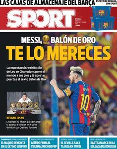 DyO: Así vienen las portadas de la prensa deportiva del jueves 15 de septiembre