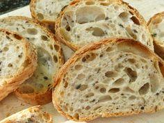 Italský kořen s černými olivami Food And Drink, Bread, Anna, Breads, Sandwich Loaf