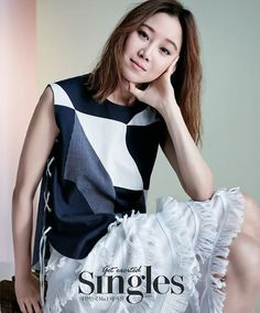 Gong Hyo Jin -  Singles Magazine May Issue '15
