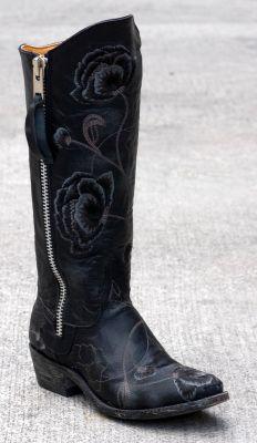 Get Paige Duke's (Sweet Home Alabama) black Old Gringo boots $519