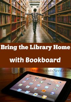 Great information about an app that provides TONS of children's books, straight to your iPad! Bookboard even has a full-time librarian to keep the content fresh.