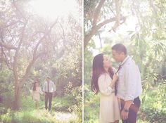 Dreamy Golden Gate Park Engagement Photo Session #wedding #photography