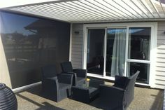 PVC Outdoor Walls: Calido Screens for All-Weather Outdoor Rooms