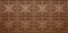 Pattern All Colors - Faux Tin Ceiling Tile Pattern Faux Tin Ceiling Tiles, Faux Brick Walls, Tin Tiles, Flexible Wood, Scrap Material, Ceiling Panels, Metal Panels, Tile Patterns, All The Colors