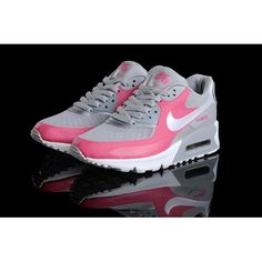 Classic Nike Air Max 90 Hyp Premium Women Neutral Grey/Pink-White Shoe For