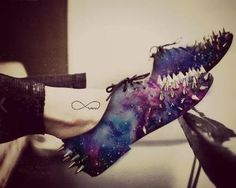 spike galaxy shoes These are amazing!