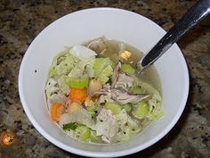 Homemade Veggie and Chicken Soup