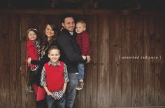 Arkansas Family Session – The Welch's Arkansas Winter Family shoot Family posing Outdoor family outfit ideas