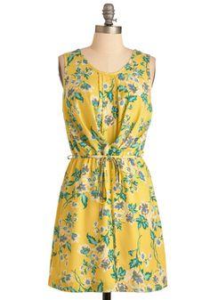 Here Comes the Sunshine Dress | Mod Retro Vintage Dresses | ModCloth.com