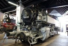 Beautiful memories of childhood: iron horses, heavy trains. Memories of the good old steam locomotive era
