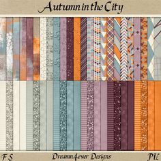 FREE Autumn in the City by Dreamn4ever Designs: Blog Trains (Updated)