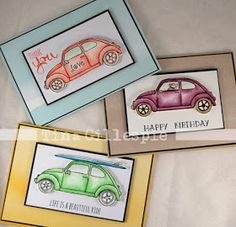 Stampin Up Beautiful Ride cards by Tina 2016 Occasions Catalogue Create Birthday Card, Birthday Cards, Line Art Images, Stampin Up Karten, Stamping Up Cards, Masculine Cards, Paper Cards, Homemade Cards, Making Ideas