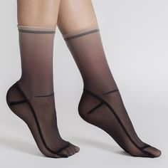 Sheer Nylon Socks