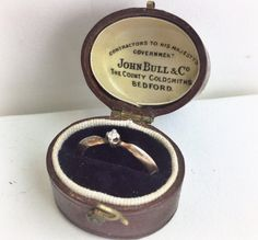 antique little ring box