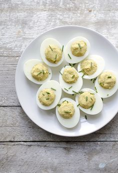 Curried Deviled Eggs (on eHow)