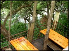 The Gristmill Restaurant - Gallery - Dining Outdoors - Gruene Texas. I think that's exactly where I sat!