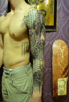 Xoil tattoo sleeve